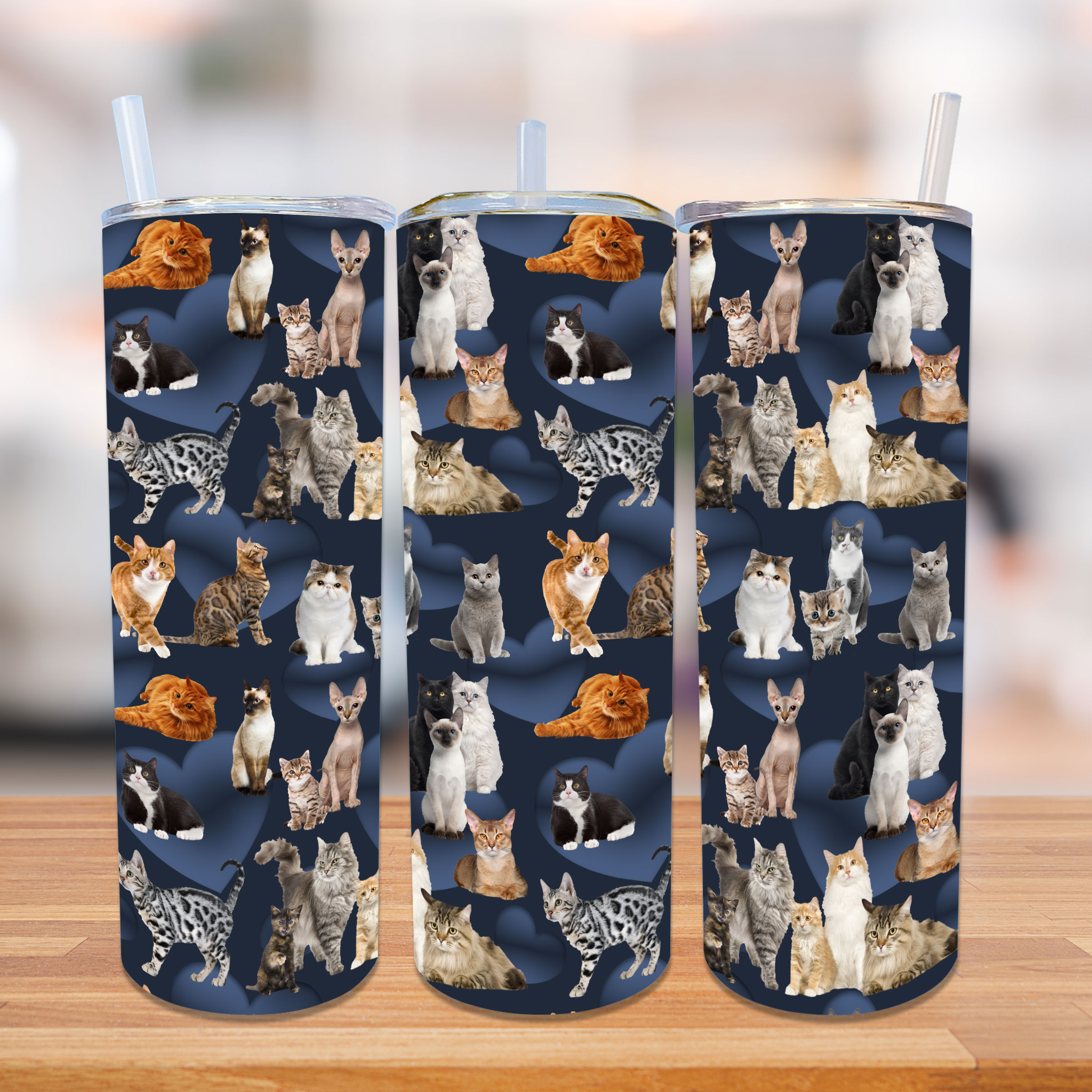 Handle Cover Set - Cats