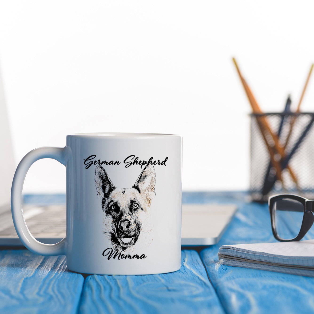 Dog Momma Mug - German Shepherd