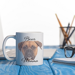 Dog Momma Mug - Boxer