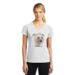 Dog Momma T-shirt - Chinese Crested