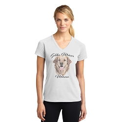 Dog Momma T-shirt - Golden Retriever