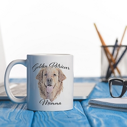 Dog Momma Mug - Golden Retriever