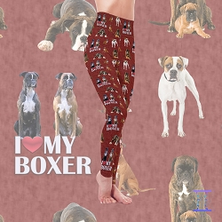 Dog Mom Series - Boxer Leggings