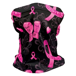 Breast Cancer Awareness Gait Shortie Neck Gaiter