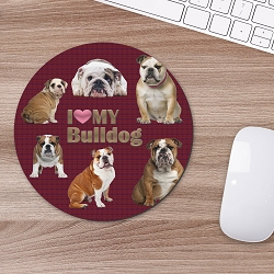 Pads -Bulldog Mouse Mouse Pad