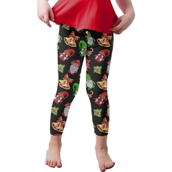 Christmas Gnomes Youth Leggings