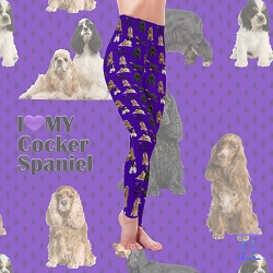 Dog Mom Series - Cocker Spaniel Leggings