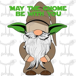 May the Gnome be with You Design