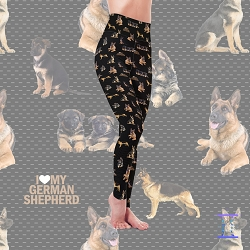 Dog Mom Series - German Shepherd Leggings