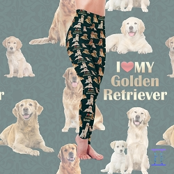 Dog Mom Series - Golden Retriever Leggings