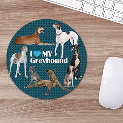 Pads -Greyhound Mouse Mouse Pad
