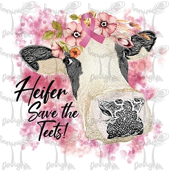 Heifer Save the Teets Artwork