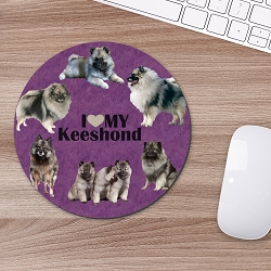 Keeshond Mouse Mouse Pad