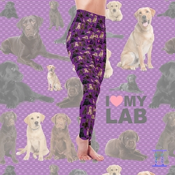 Dog Mom Series - Labrador Leggings