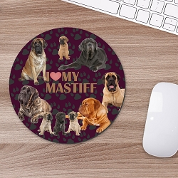 Mastiff Mouse Mouse Pad