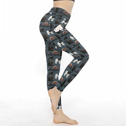 Newfoundland Dog Leggings