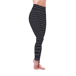Protect & Serve Collection - Police Leggings - Women