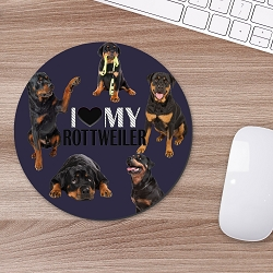 Rottweiler Mouse Mouse Pad