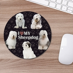 Sheepdog Mouse Mouse Pad