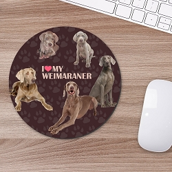 Weimaraner Mouse Mouse Pad