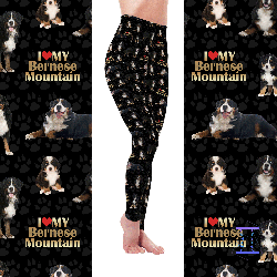 Dog Mom Series - Bernese Mountain Leggings