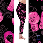 Breast Cancer Awareness The Fight Leggings