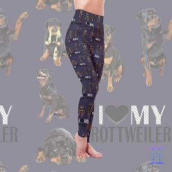 Dog Mom Series - Rottweiler Leggings