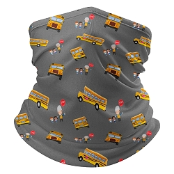 Bus Driver Neck Gaiter with filter pocket