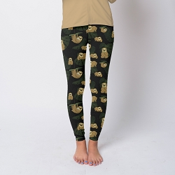 Sloths Tween Leggings