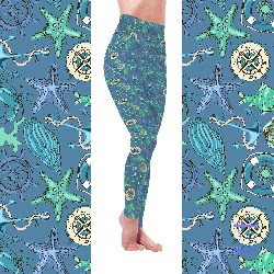 Sand & Sea Collection - Life is Better by the Sea Leggings