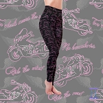 Two Wheels Moves the Soul Leggings