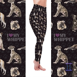 Dog Mom Series - Whippet Leggings