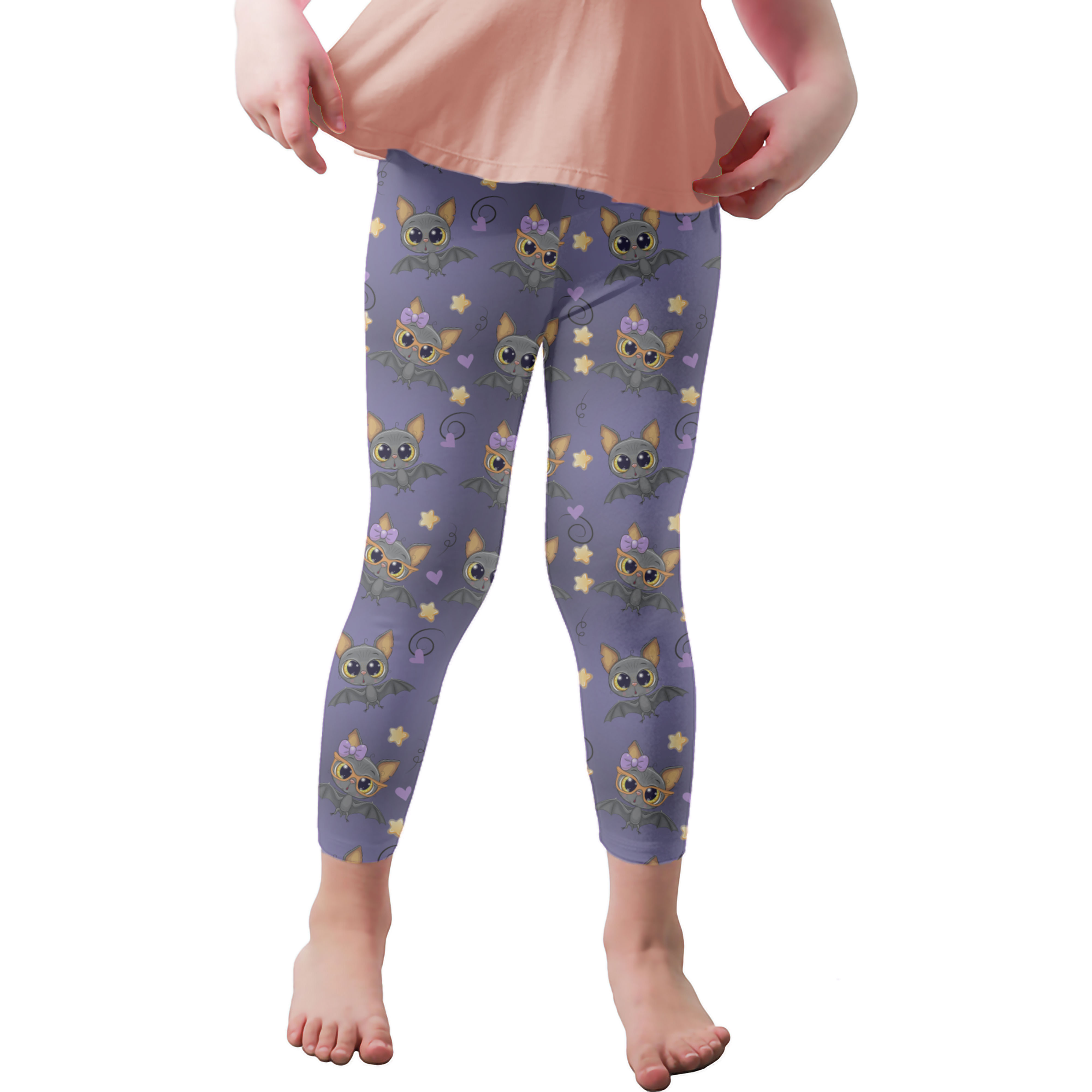 Lil' Bats Youth Leggings