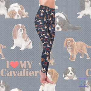 Dog Mom Series - Cavalier Leggings