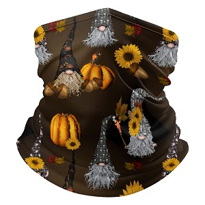 Gnomes of Halloween Past Neck Gaiter with filter pocket