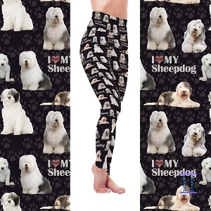 Dog Mom Series - Sheepdog Leggings