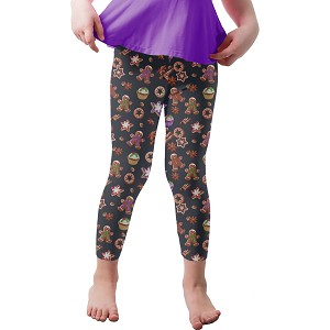 Gingerbread Cookies Youth Leggings
