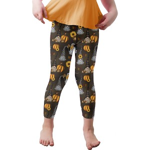 Gnomes of Halloween Past Youth Leggings